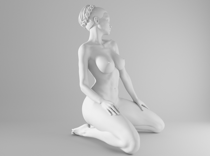 1/10 Sexy Girl Sitting 014 3d printed