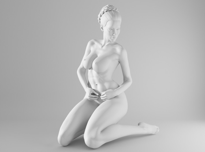 1/10 Sexy Girl Sitting 015 3d printed