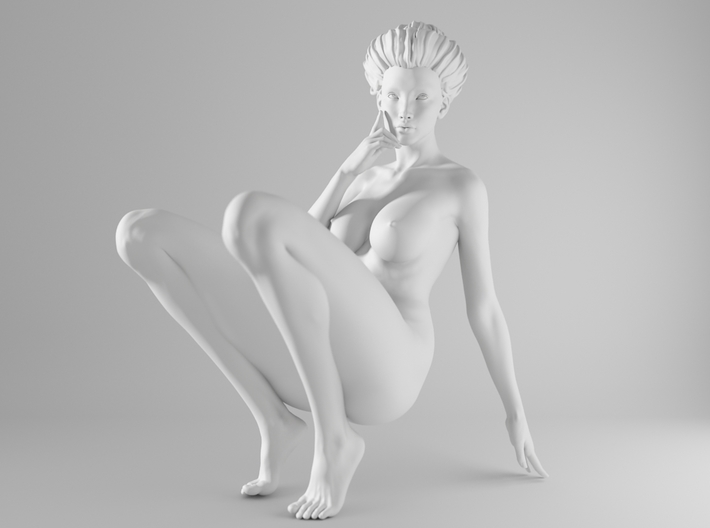 1/10 Sexy Girl Sitting 019 3d printed