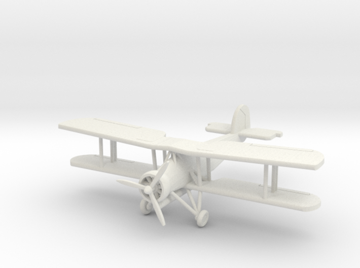 Fairey Swordfish 1/96 Scale (With Prop) 3d printed