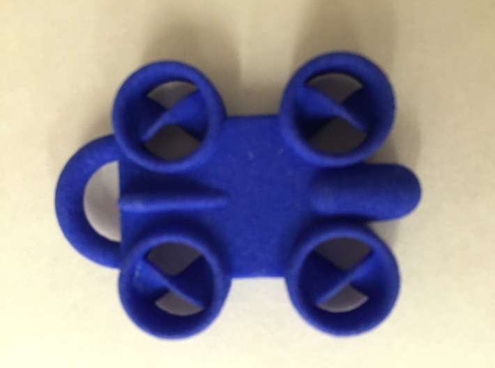 Minature Drone Ornament 3d printed Photo of actual part
