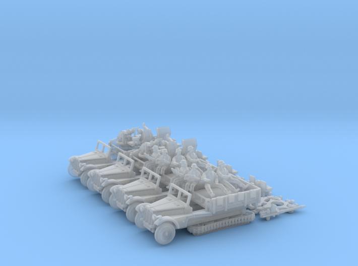 Sd.Kfz 10/4  FLAK 30  (4 pack) 3d printed