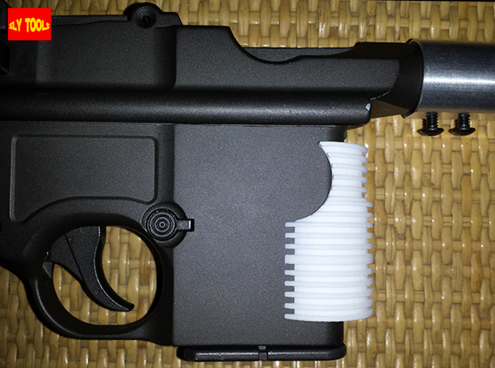 TFA Grill (HFC M712 Version) 3d printed Perfect fit