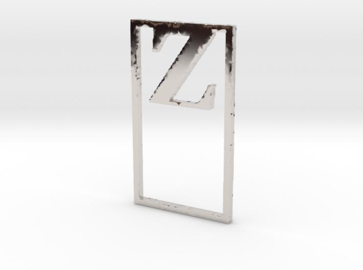 Bookmark Monogram. Initial / Letter Z 3d printed