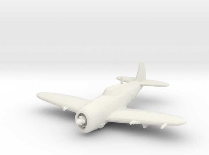 Republic P-47 'Thunderbolt' Razorback 3d printed