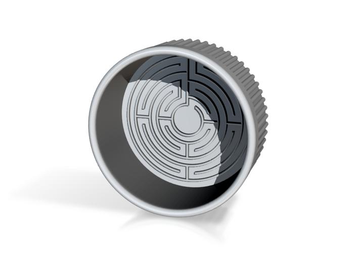 Flan's Labyrinth 3d printed
