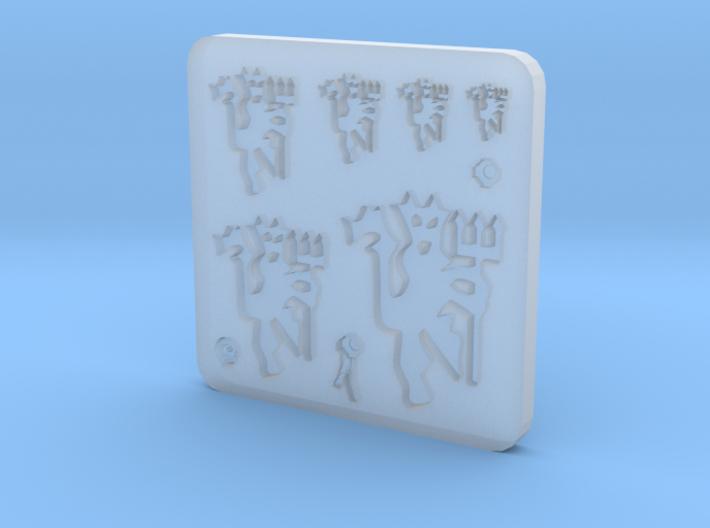 Sigil - Hellions Pushmould 3d printed