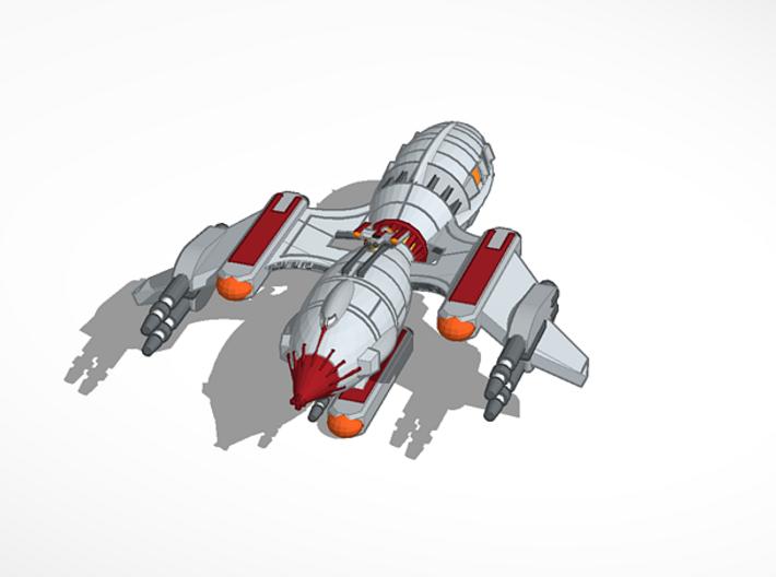 Strikehawk 2500 3d printed