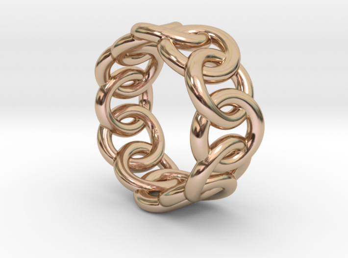 Chain Ring 14 – Italian Size 14 3d printed