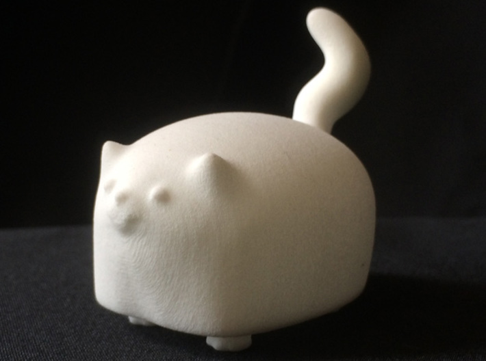 ZuZu 3d printed White Strong & Flexible