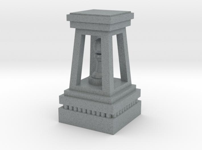 Monumental Chess Pawn 3d printed
