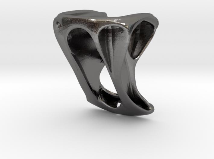 Step Knob 3d printed