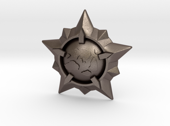 World Exploration Star 3d printed