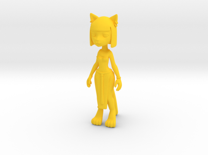 Egypt Kitty Figure 3d printed
