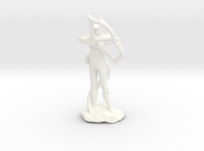 Tiefling Ranger with Bow 3d printed