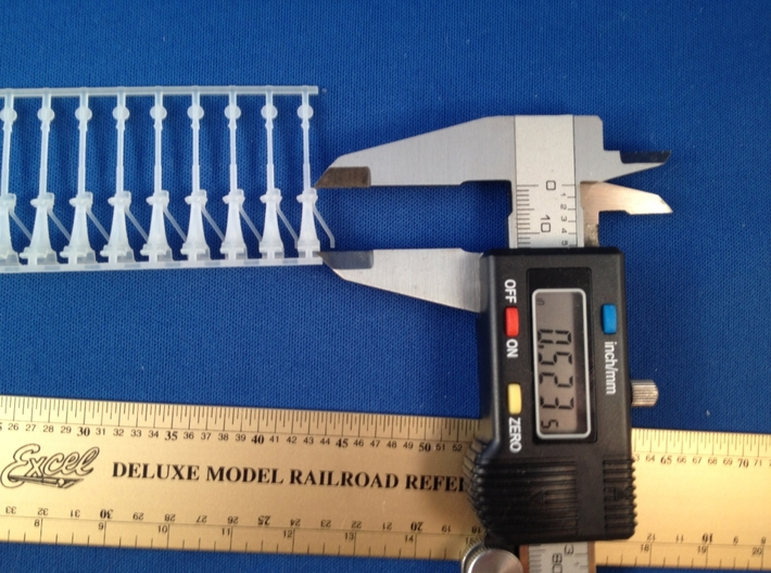 S Scale Canadian National Switch Stands X10 3d printed