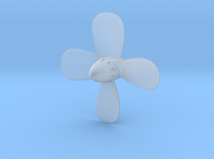 Titanic Propeller 4-Bladed Scale 1:144 3d printed