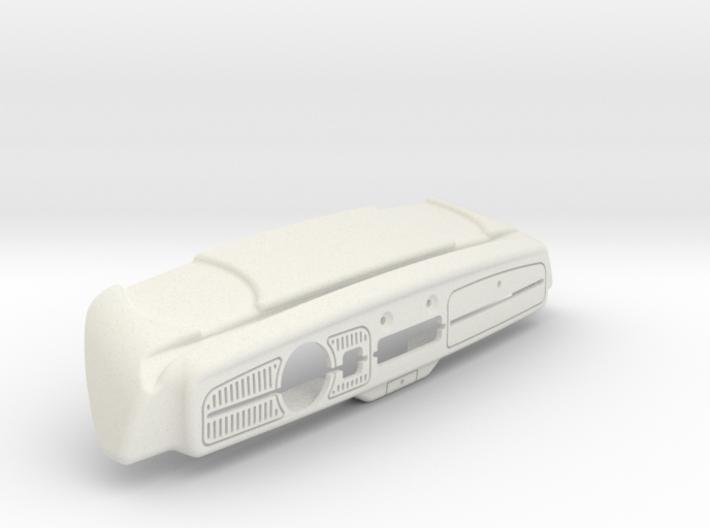 Sand Scorcher Dashboard - Body 3d printed