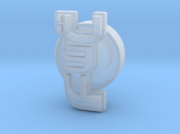 Future Warlord's Coin 3d printed