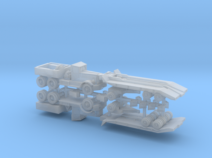M19 Tank Transporter w. Soft Top 1/285 6mm 3d printed