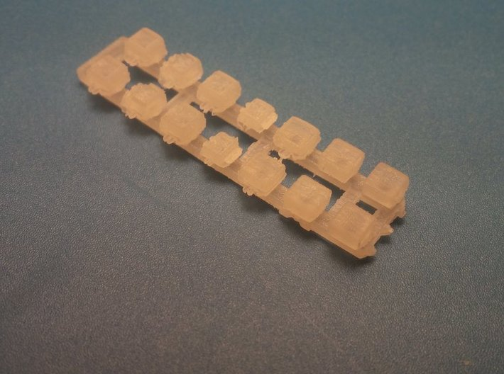 1/35 and 1/16 AN/VIC-3 LV2 Intercom Set MSP35-005 3d printed