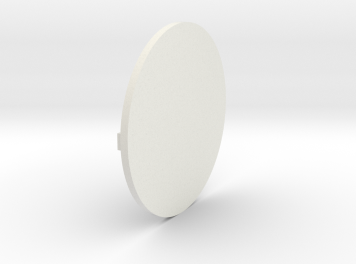 Round Base 01 3d printed