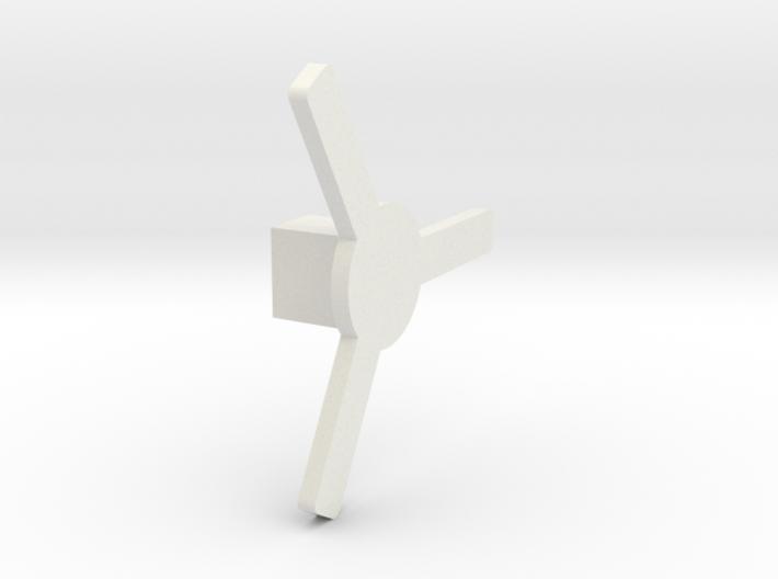 Cross Box Key 3d printed