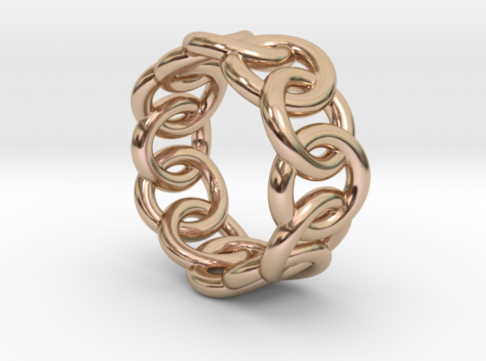 Chain Ring 24 – Italian Size 24 3d printed
