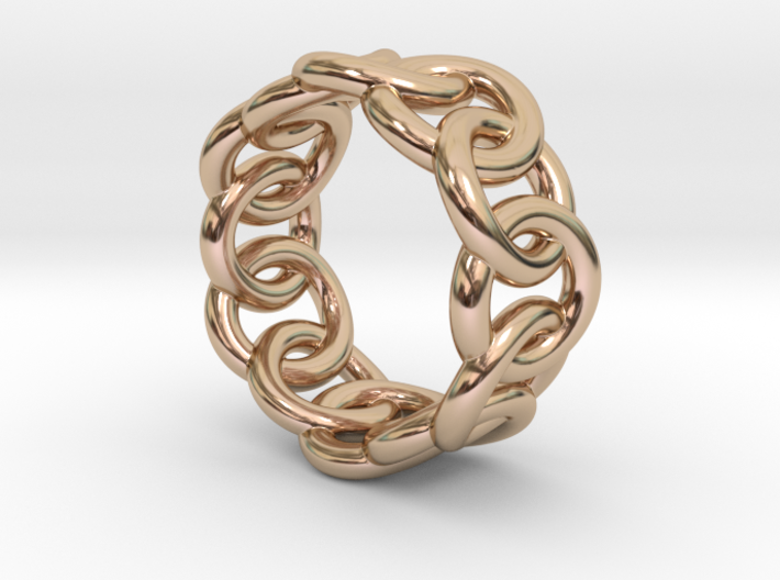 Chain Ring 32 – Italian Size 32 3d printed