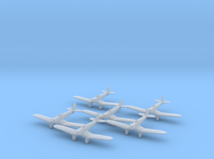 Supermarine Type 224 1:285 x6 FUD 3d printed