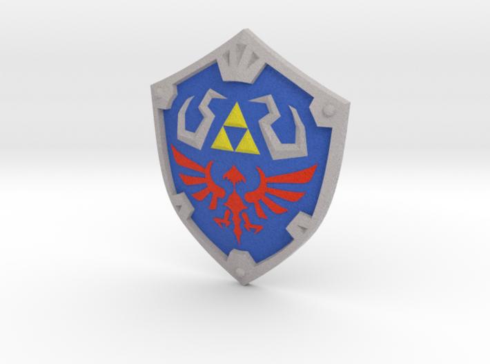 """SS"" Hylian Shield 3d printed"