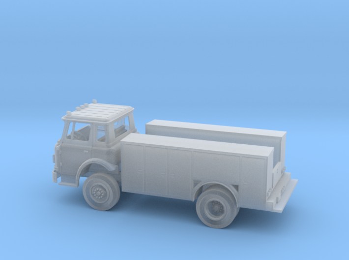 Cargostar with 14 foot Service Body 3d printed