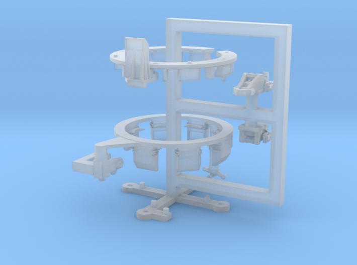 TC Ring Leo1A5 full set 3d printed