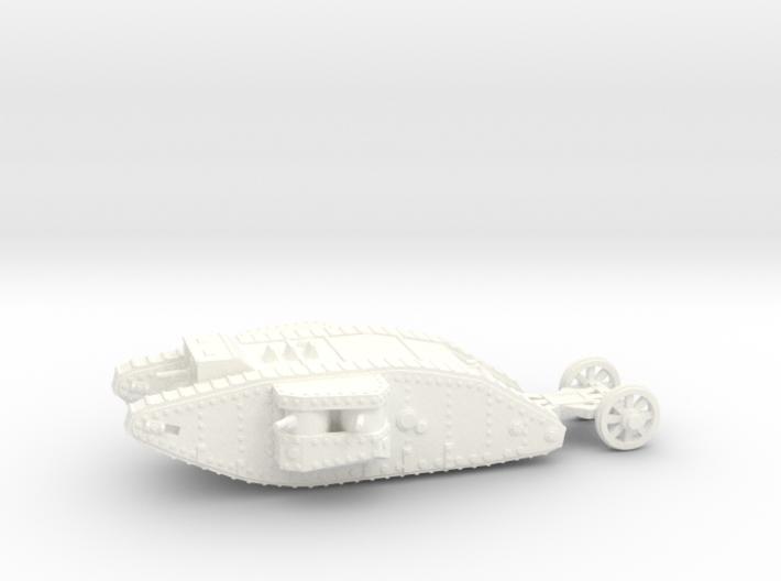1/100 Mk.I Female tank 3d printed
