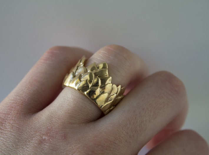 Scale Ring 3d printed