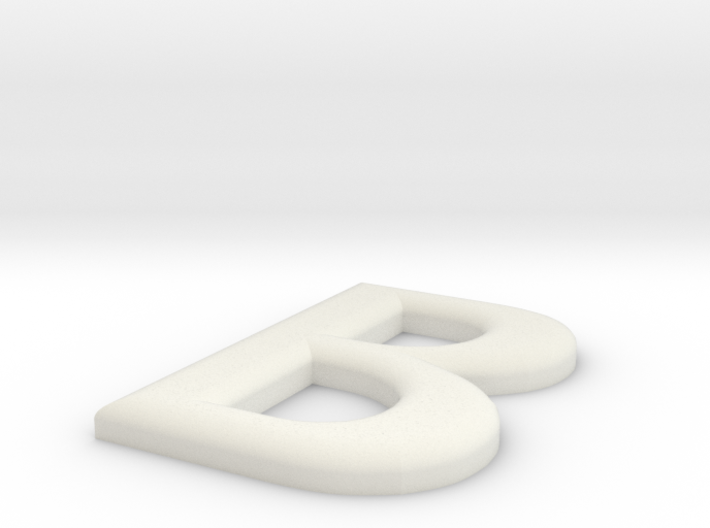 B 3d printed