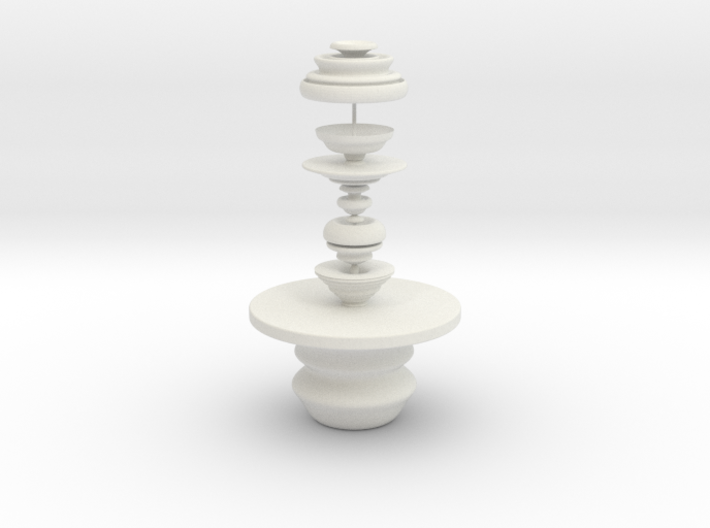 Table And Sculpture 3d printed