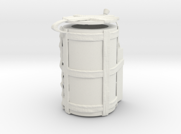 """1/18 Scale """"H912"""" SADM Transport Container (Hinged 3d printed"""