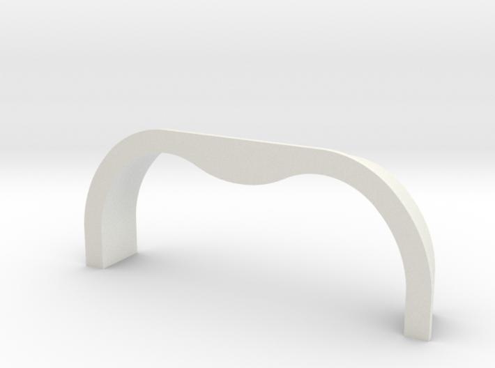 TK&A Grommet Straight Flange 3d printed