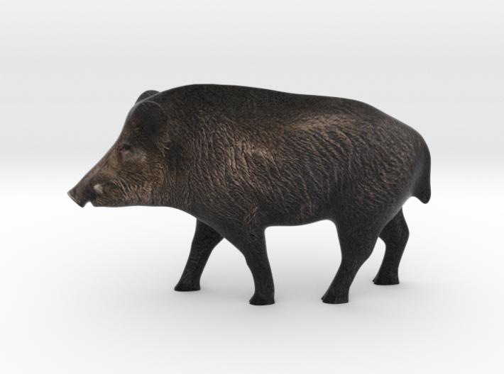 Realistic Eurasian Wildboar 3d printed