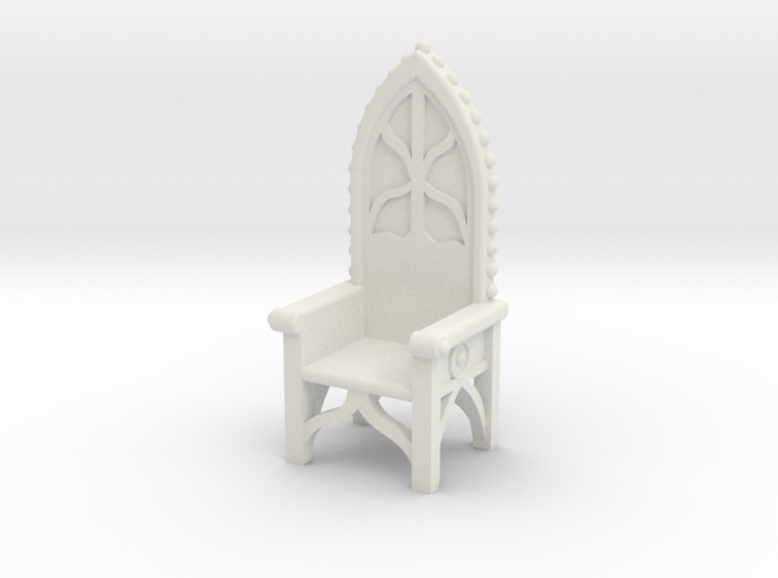 Gothic Chair 4 3d printed