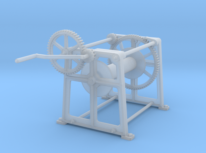 Crab (Hand) Winch 3d printed