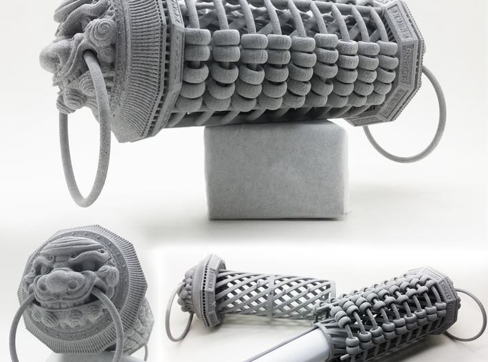 Chinese Cylindrical Abacus. Part 2. 3d printed