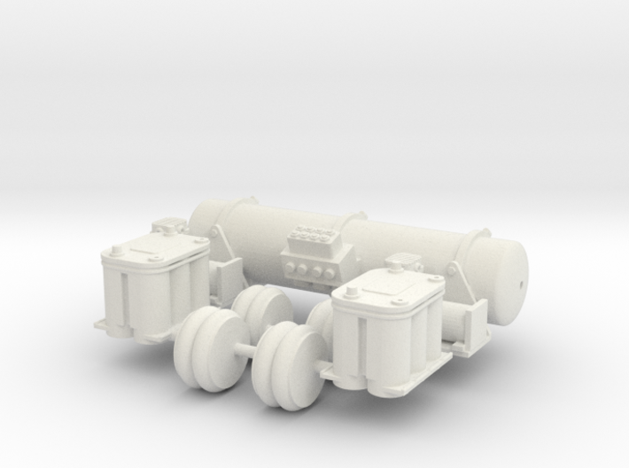 Accuair Dual Viair Kit 1/12 scale 3d printed