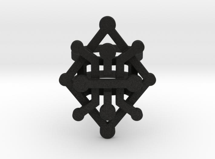 Geo Rhombus ring size 5 3d printed