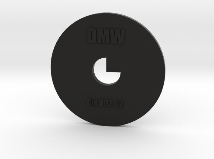 Clay Extruder Die: Circle 002 02 3d printed