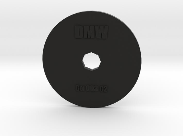 Clay Extruder Die: Coil 003 02 3d printed