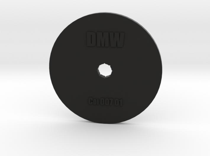 Clay Extruder Die: Coil 007 01 3d printed