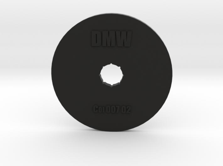 Clay Extruder Die: Coil 007 02 3d printed