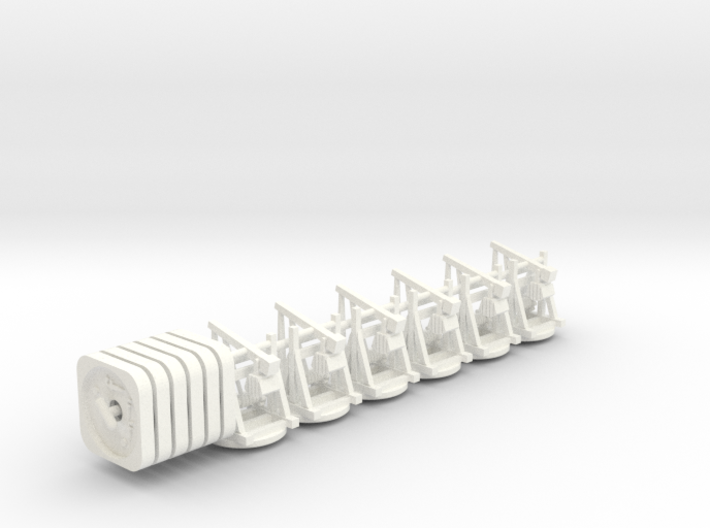 Fief - Trebuchets (rotating) (6-12 pcs) 3d printed